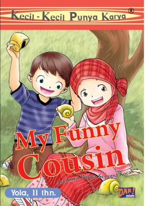 KKPK: My Funny Cousin by Yola Sugiri from Mizan Publika, PT in General Novel category