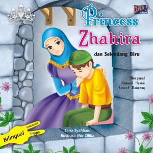 PRINCESS ZHAHIRA DAN SELENDANG BIRU by Lana Syahbani from Mizan Publika, PT in General Novel category
