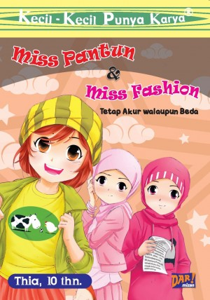MISS PANTUN AND MISS FASHION by Thia from Mizan Publika, PT in General Novel category