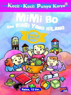KKPK: Mimi Bo dan Diari yang Hilang by Shabrina Fathin from Mizan Publika, PT in Children category
