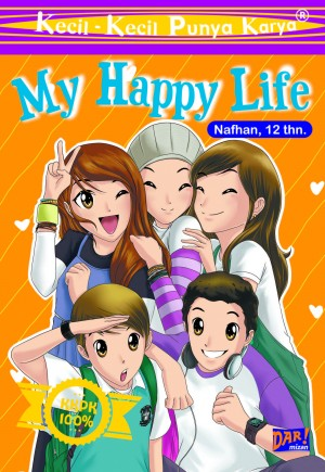 KKPK: My Happy Life by Nafhan N  Qodri from Mizan Publika, PT in Children category