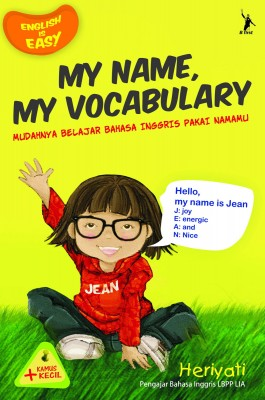 My Name My Vocabulary by Heriyati from Mizan Publika, PT in General Novel category