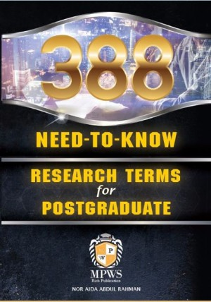 388 NEED –TO-KNOW RESEARCH TERMS FOR POSTGRADUATE