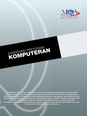 Standard Program: Komputeran by Agensi Kelayakan Malaysia (Malaysian Qualifications Agency, MQA) from  in  category