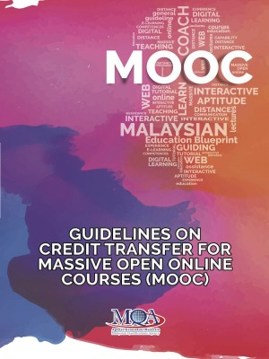 Guidelines on Credit Transfer for Massive Open Online Courses (MOOC) by Agensi Kelayakan Malaysia (Malaysian Qualifications Agency, MQA) from  in  category