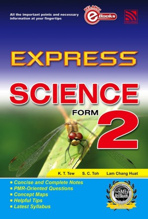 Express Science Form 2 by Penerbitan Pelangi Sdn Bhd from Pelangi ePublishing Sdn. Bhd. in General Academics category