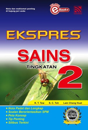 Ekspres Sains Tingkatan 2 by Penerbitan Pelangi Sdn Bhd from  in  category
