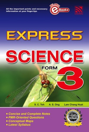 Express Science Form 3 by Penerbitan Pelangi Sdn Bhd from Pelangi ePublishing Sdn. Bhd. in General Academics category
