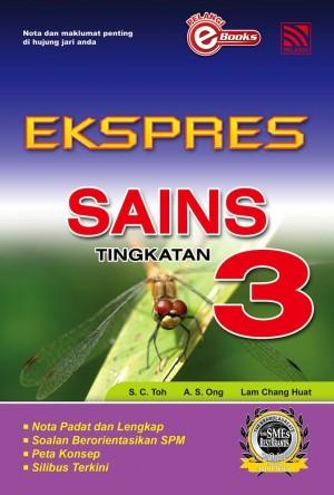 Ekspres Sains Tingkatan 3 by Penerbitan Pelangi Sdn Bhd from Pelangi ePublishing Sdn. Bhd. in General Academics category