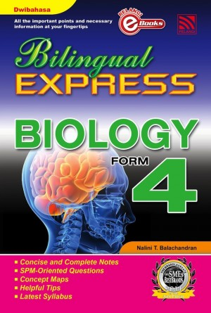 Bilingual Express Biology Form 4 by Nalini T. Balachandran from Pelangi ePublishing Sdn. Bhd. in General Academics category