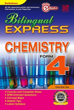 Bilingual Express Chemistry Form 4 by Chau Kok Yew from Pelangi ePublishing Sdn. Bhd. in General Academics category
