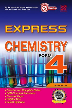 Express Chemistry Form 4 by Penerbitan Pelangi Sdn Bhd from Pelangi ePublishing Sdn. Bhd. in General Academics category