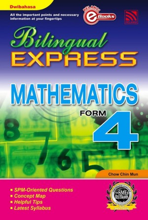 Bilingual Express Mathematics Form 4 by Chow Chin Mun from  in  category