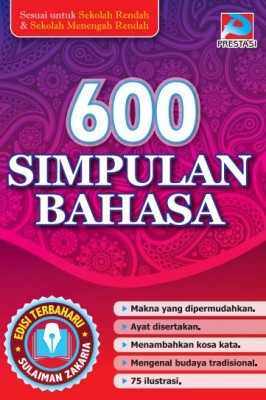 600 Simpulan Bahasa by Sulaiman Zakaria from  in  category