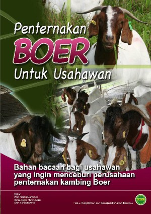 PENTERNAKAN KAMBING BOER by Wan Zahari Mohamed, Mohd. Najib Mohd. Amin, Azizi Ahmad Azman from PENERBIT MARDI in  category