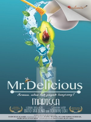 Mr. Delicious by Marissa from PENULISAN ENTERPRISE in General Novel category