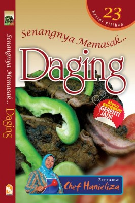 Senangnya Memasak… Daging by Chef Hanieliza from PTS Publications in Recipe & Cooking category