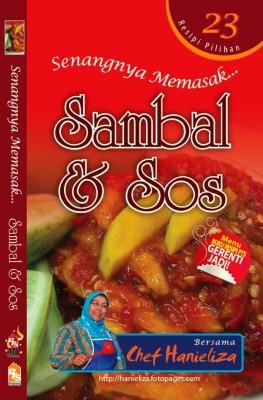 Senangnya Memasak…Sambal & Sos by Chef Hanieliza from PTS Publications in Recipe & Cooking category