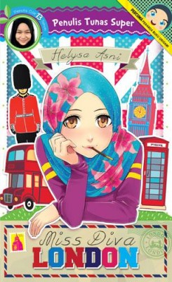 Tunas Super: Miss Diva London by Helysa Asni from PTS Publications in Teen Novel category