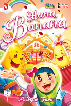 Usahawan Cilik: Hana Banana by Mohd Ariffuddin from PTS Publications in Teen Novel category