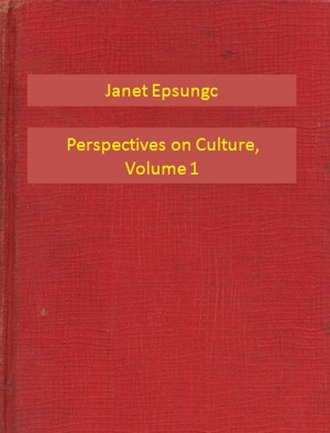 Perspectives on Culture, Volume 1