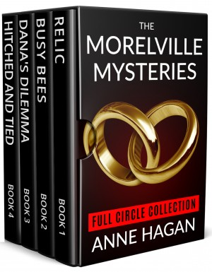 The Morelville Mysteries Full Circle Collection Boxed Set by Anne Hagan from PublishDrive Inc in General Novel category
