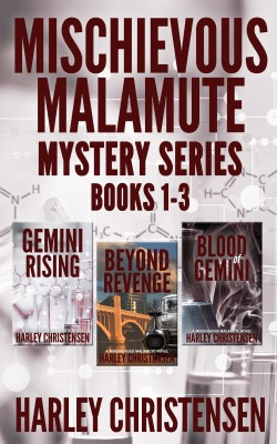 Mischievous Malamute Mystery Series: Books 1-3 by Harley Christensen from PublishDrive Inc in General Novel category