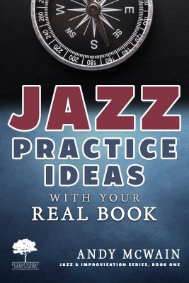 Jazz Practice Ideas with Your Real Book: Using Your Fake Book to Efficiently Practice Jazz Improvisation, While Studying Jazz Harmony, Ear Training, and Jazz Composition ( ~for beginner and intermediate jazz musicians) by Andy McWain from PublishDrive Inc in Art & Graphics category