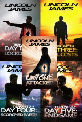 Tier Unit 3-1: All Five Days: Books 1-5 of the Terrorism Thriller Series by Lincoln James from PublishDrive Inc in General Novel category