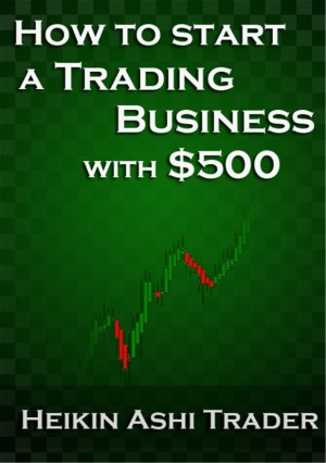 How to start a trading business with $500 by Heikin Ashi Trader from PublishDrive Inc in Business & Management category