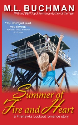 Summer of Fire and Heart by M. L. Buchman from PublishDrive Inc in General Novel category