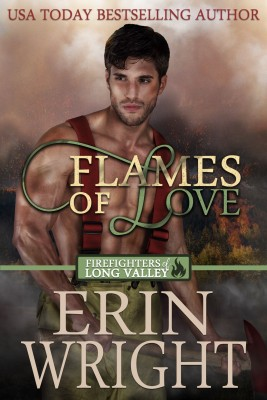 Flames of Love by Erin Wright from PublishDrive Inc in Romance category