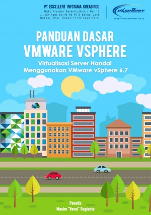 "Panduan Dasar VMware vSphere by Masim ""Vavai"" Sugianto from PublishDrive Inc in Engineering & IT category"
