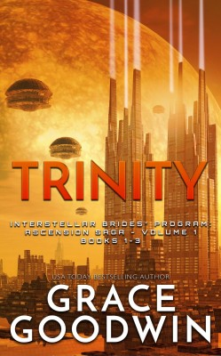 Trinity: Ascension Saga - Volume 1 by Grace Goodwin from PublishDrive Inc in General Novel category