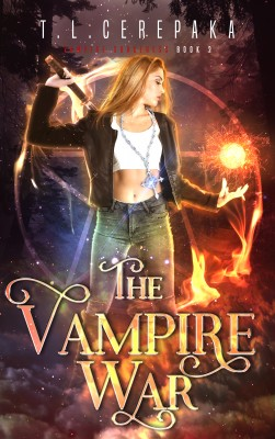 The Vampire War by T.L. Cerepaka from PublishDrive Inc in General Novel category
