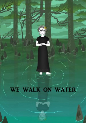 We Walk on Water by Cara Cobb from PublishDrive Inc in Religion category