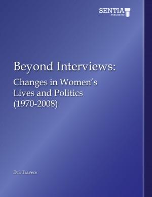 Beyond Interviews: