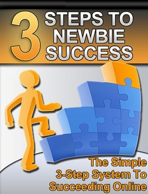 3 Steps to Newbie Success by Thrive Learning Institute from PublishDrive Inc in Business & Management category