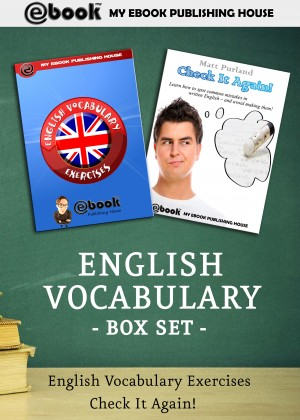 English Vocabulary Box Set by Matt Purland from PublishDrive Inc in Language & Dictionary category