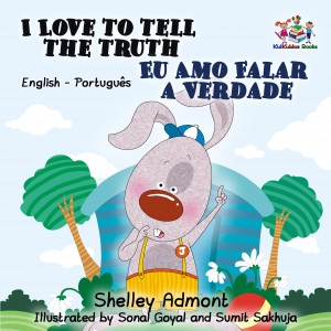 I Love to Tell the Truth Eu Amo Falar a Verdade by KidKiddos Books from PublishDrive Inc in Language & Dictionary category