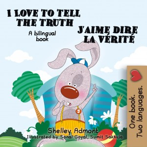 I Love to Tell the Truth J'aime dire la vérité by KidKiddos Books from  in  category