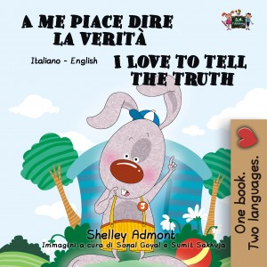 A me piace dire la verità I Love to Tell the Truth by KidKiddos Books from PublishDrive Inc in General Novel category