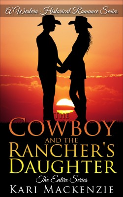 The Cowboy and the Ranchers Daughter by Kari Mackenzie from PublishDrive Inc in General Novel category
