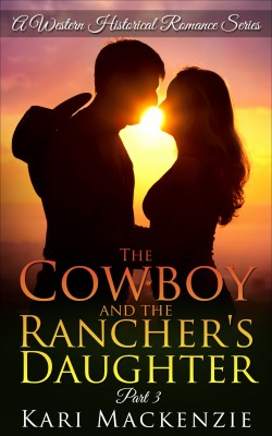 The Cowboy and the Rancher's Daughter by Kari Mackenzie from PublishDrive Inc in General Novel category