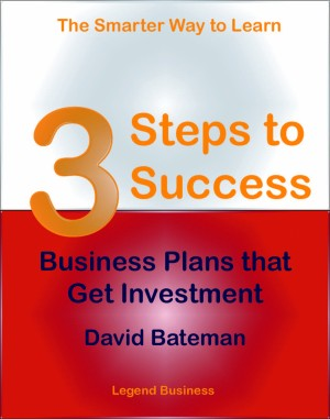 3 Steps to Success: Business Plans that Get Investment by David Bateman from PublishDrive Inc in Finance & Investments category