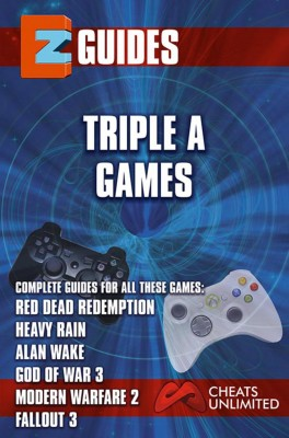 Triple A Games - red dead redemption - Heavy Rain - Alan wake -God of War 3 - Modern Warfare 3 by  from Publish Drive (Content 2 Connect Kft.) in General Novel category