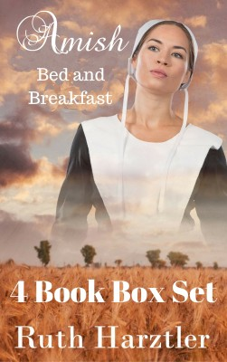 Amish Bed & Breakfast: Four Book Box Set by Ruth Hartzler from PublishDrive Inc in General Novel category