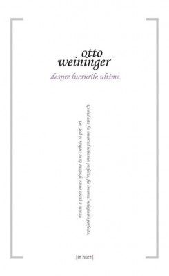 Despre lucrurile ultime by Otto Weininger from PublishDrive Inc in General Academics category