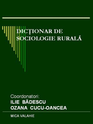 Dic?ionar de sociologie rural? by Fitri Hussin, Ebriza Aminnudin, Resmanshah from PublishDrive Inc in History category