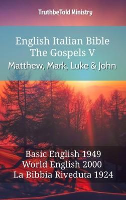 English italian bible the gospels v matthew mark luke and john english italian bible the gospels v matthew mark luke and john by fandeluxe Gallery
